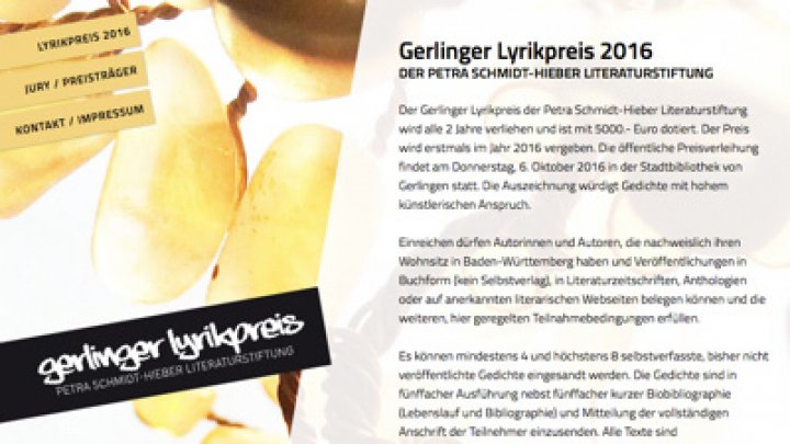 Gerlinger Lyrikpreis